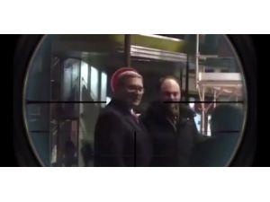 """Kadirov, eski başbakanı keskin nişancı """"hedefine"""" aldı"""