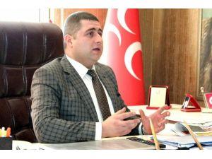 """MHP Yozgat İl Başkanı Ethem Sedef, """"Hainler Emellerine Ulaşamayacak"""""""