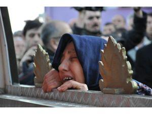 Şehidin Cenazesinde Göz Yaşları Sel Oldu