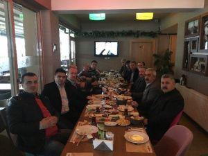 Türk İmar-sen Eskişehir İş Yeri Temsilcileri Kahvaltıda Buluştu