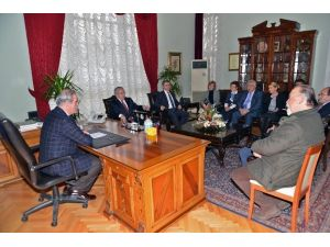CHP'den Başkan Altepe'ye Nezaket Ziyareti