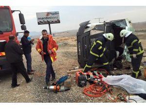 Mardin'de Trafik Kazası: 1 Ölü, 1 Yaralı