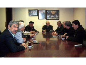 Ahmet Ertürk, Efeler Ziraat Odası'nı Ziyaret Etti