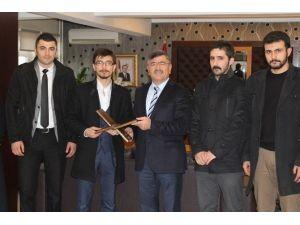 Tügva'dan Başkan Akdoğan'a Ziyaret