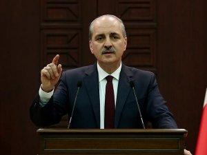 Numan Kurtulmuş: Sınır Güvenliği Kanun tasarısı Başbakanlık'ta bekliyor