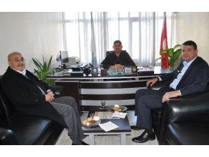 Başkan Turgut Minibüsçüler Odasını Ziyaret Etti