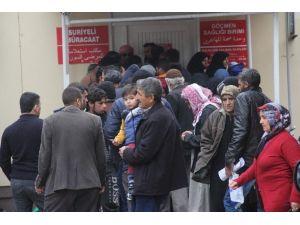 Adana'da Suriyelilere Sağlık Hizmeti