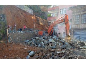 Trabzon Büyükşehir Belediyesi 2015 Yılında İstinat Duvarı İnşaatlarına 3 Milyon 29 Bin TL Harcadı