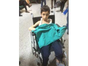 Afganlı göçmen çocuk yarı donmuş halde bulundu