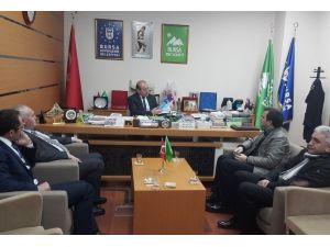 Erzurum Kent Konseyi, Bursa Kent Konseyi'ni Ziyaret Etti