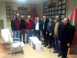Uşak CHP'den Şehit Yakınları Ve Gazilere Ziyaret