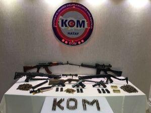 Hatay'da Kaçak Silah Operasyonu