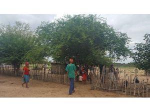 Namibya'da 'San People Kabilesine Acil İnsani Yardım Ve Kırsal Kalkınma' Projeleri Başlatıldı