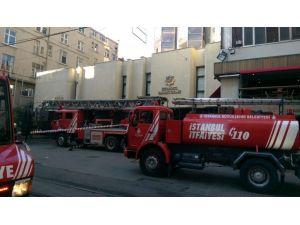 Odakule'de yangın paniği