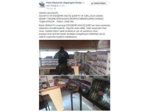Eskişehir Asayiş Şube Müdürlüğü Ekipleri Operasyondaki Meslektaşlarını Unutmadı