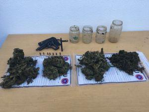 Jandarmadan uyuşturucu ve hırsızlık operasyonu