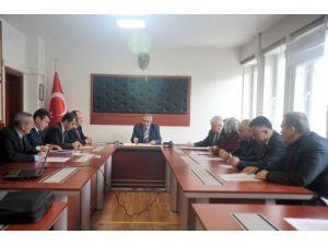 Bilecik'te İl Encümen Toplantısı Yapıldı