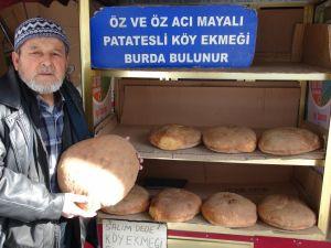 Patatesli köy ekmeği hediyelik ürün oldu