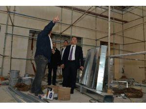 Konyaaltı Kültür Merkezi Ve Cemevi Gün Sayıyor
