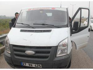 Otobanda el kaldıran kadınlar bir sürücünün 11 bin lirasını çaldı
