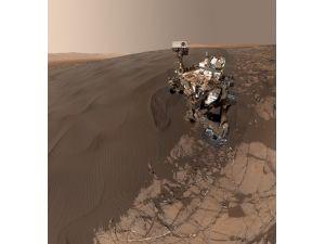 Mars'tan selfie geldi!