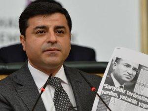 Selahattin Demirtaş'tan Bekir Bozdağ'a şok tepki