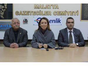 Milletvekili Öznur Çalık'tan Gazeteciler Cemiyeti'ne Ziyaret