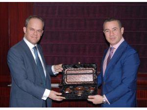 AB Türkiye Delegasyonu Siyasi İşler Müsteşarı Poupeau'nun GTO Ziyareti