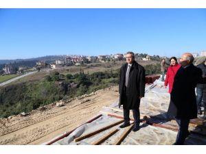 Eskihisar Macera Parkı Hızla İlerliyor