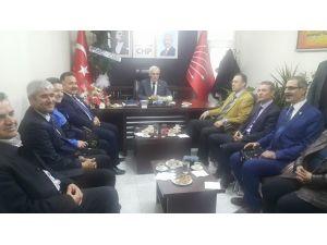 Emniyet Müdürü Salmaner'den, CHP'ye Ziyaret