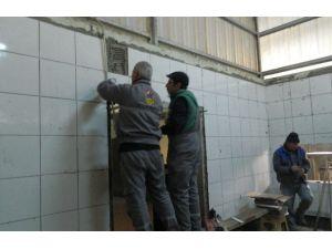 Çankırı'da Belediye Mezbahası Tadilata Alındı