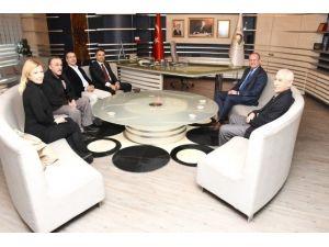 CHP Yönetiminden Ziyaret
