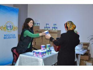 Bozüyük Belediyesi'nden Ücretsiz Devam Sütü