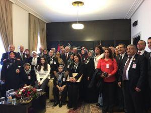 Kılıçdaroğlu, şehit aileleri ve gazileri kabul etti