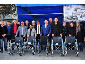 Bayırbucak Türkmenlerine Tekerlekli Sandalye