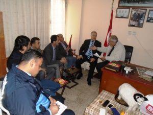 Büyükşehir zabıta ekipleri İskenderun'da kasaplarla istişare toplantısı yaptı