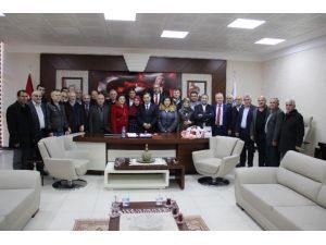 Başkan Uysal'a Geçmiş Olsun Ziyareti