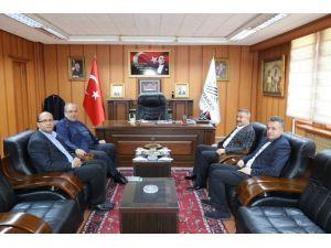 Mersin Milletvekili Özkan'dan, Başkan Kutlu'ya Ziyaret