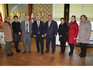 Başkan Baran CHP Körfez İlçe Örgütünü Ağırladı