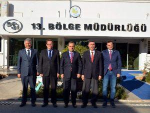 Antalya Valisi'nden DSİ'ye Ziyaret