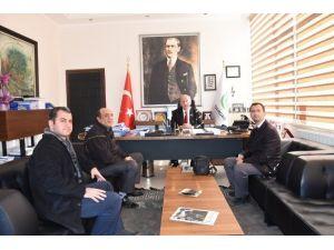 Çorlu İşitme Engelliler Trakya Spor Kulübü'nden Başkan Albayrak'a Ziyaret
