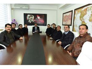 ASKON Malatya Şube Yönetimi, Başkan Gürkan'ı Ziyaret Etti