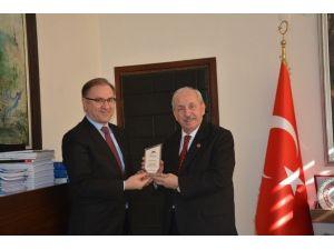 Marmara Belediyeler Birliği'nden Başkan Albayrak'a Ziyaret