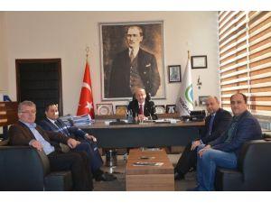 Bulgaristan Heyetinden Başkan Albayrak'a Ziyaret