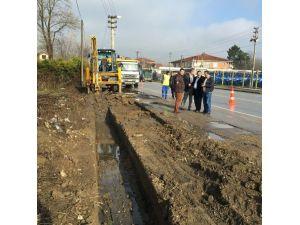 Akyazı Belediyesi Ve SASKİ'den Alt Yapı'ya Güçlendirme