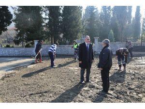 Başkan Yılmazer Park Çalışmasını Yerinde İnceledi