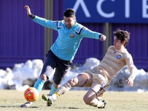 Osmanlıspor, Sivasspor Maçına U21 Takımıyla Hazırlandı
