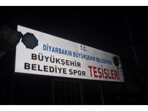 Amedspor Tesislerine Polis Baskını