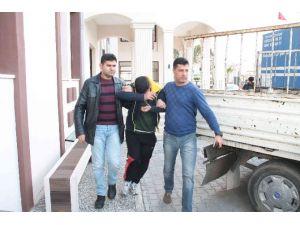 AKÜ Çaldığı İddiasıyla Yakalanan Şahıs Göz Yaşı Döktü