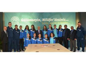 Bursa şampiyonu olan Nilüferli kızların şimdiki hedefi Türkiye şampiyonluğu
